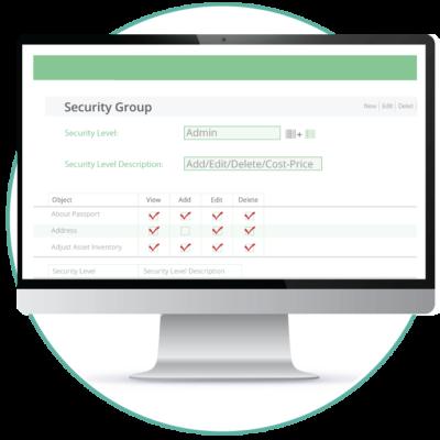 Asset tracking security level image 1