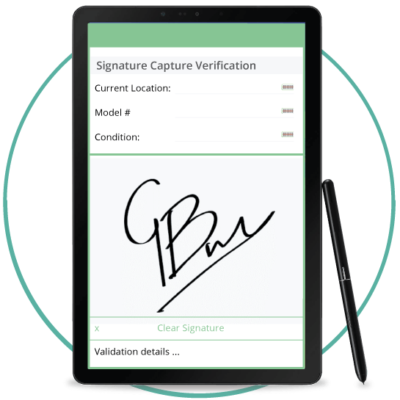 asset tracking signature capture image 1