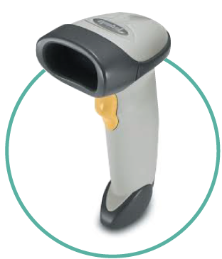 Warehouse Inventory Management Hardware Cabled Barcode Scanners