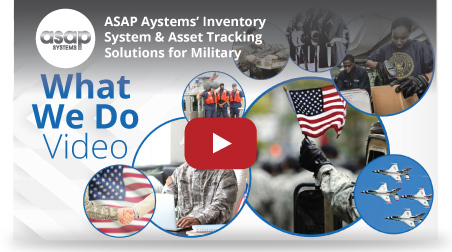 inventory asset tracking military video image hover